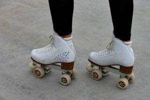 master the roller skates